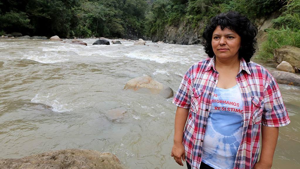 Berta Cáceres, activista medioambiental asesinada en 2016